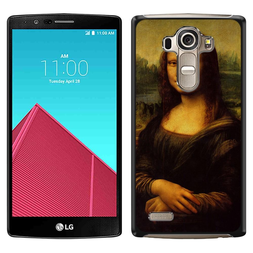 LG G4 H815 F500 VS986 H810 Mona Lisa Leonardo Da Vinci Back Cover Case