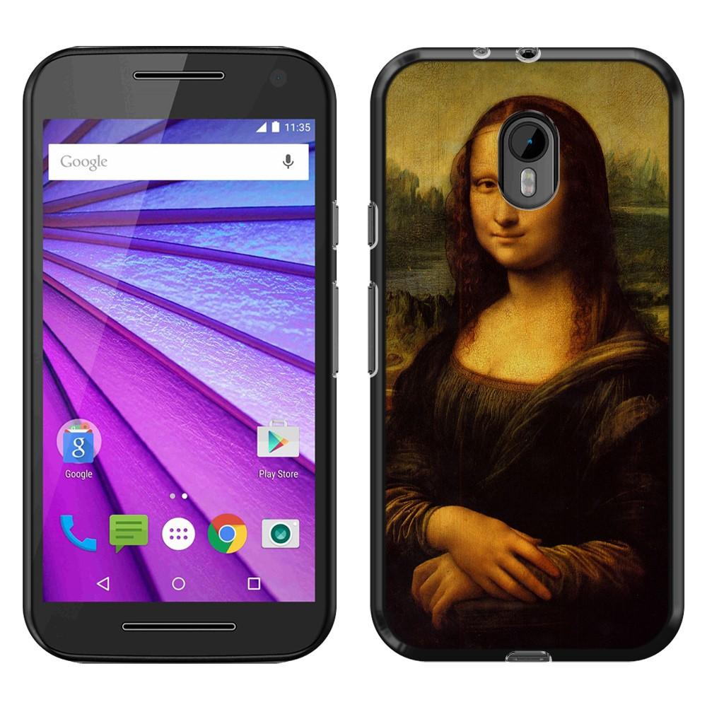 Motorola Moto G 2015 3rd Gen XT1541 XT1540 XT1548 Mona Lisa Leonardo Da Vinci Back Cover Case