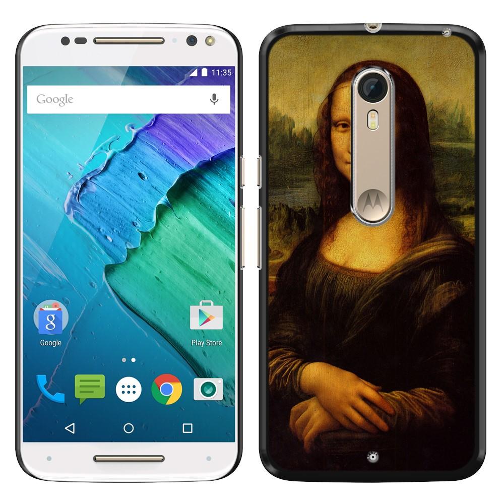 Motorola Moto X Style XT1575 Pure Edition 3rd Gen Mona Lisa Leonardo Da Vinci Back Cover Case