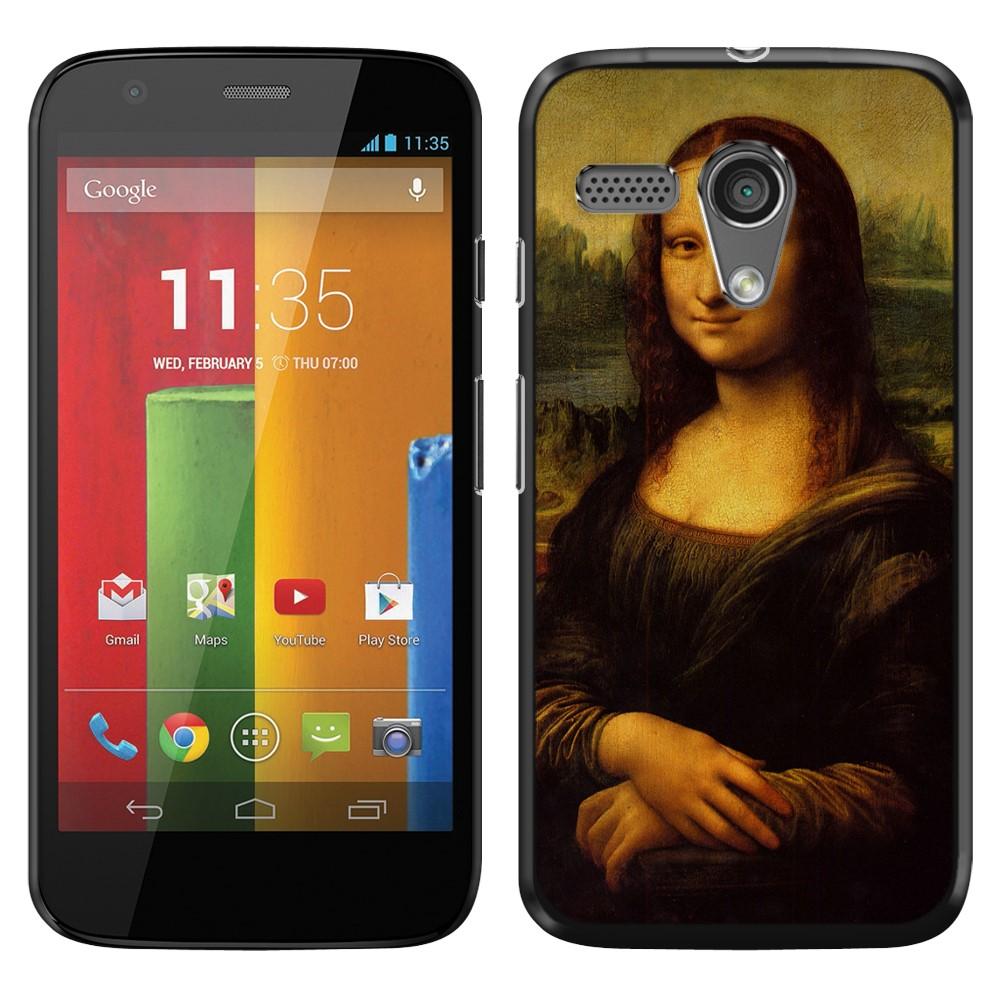 Motorola Moto G Falcon XT1032 Mona Lisa Leonardo Da Vinci Back Cover Case