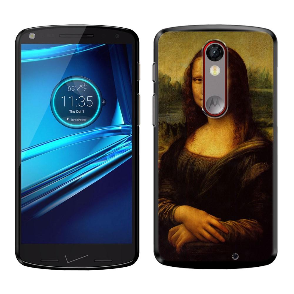 Motorola Droid Turbo 2 Kinzie XT1585 Moto X Force XT1580 Mona Lisa Leonardo Da Vinci Back Cover Case