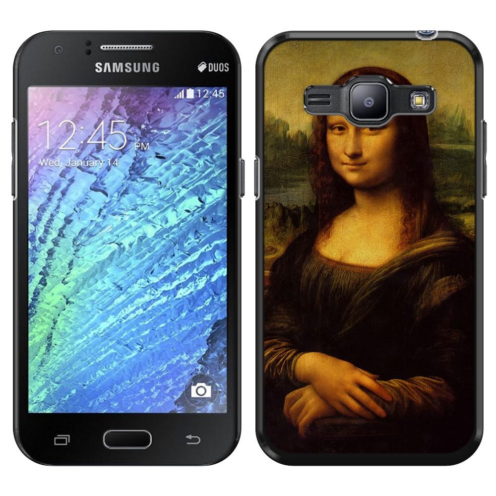 Samsung Galaxy J1 J100 Mona Lisa Leonardo Da Vinci Back Cover Case