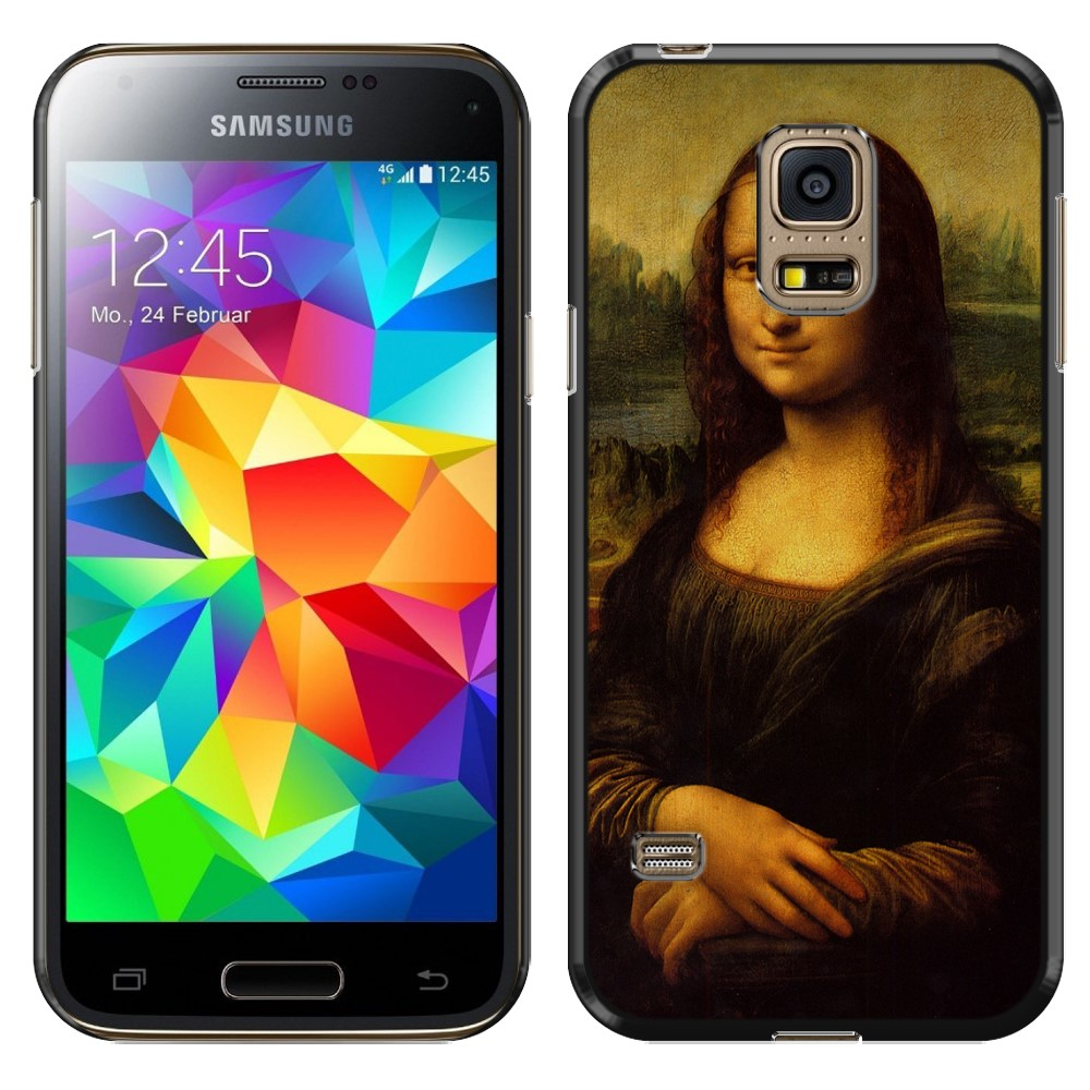 Samsung Galaxy S5 mini G800 Mona Lisa Leonardo Da Vinci Back Cover Case