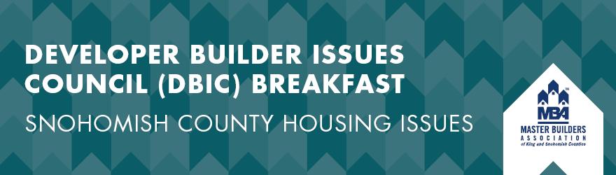 MBAKS Developer Builder Issues Council Breakfast