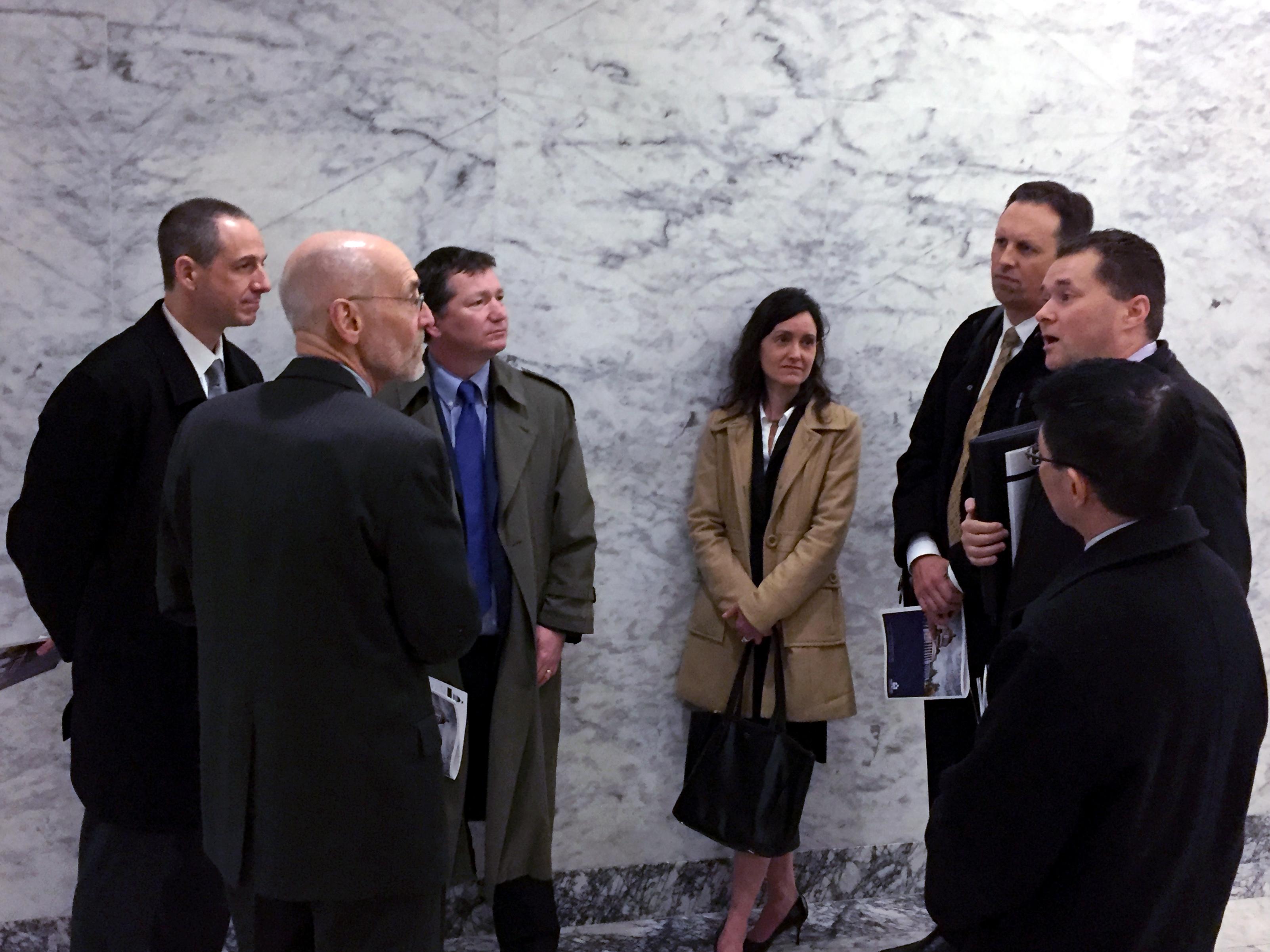 MBA members discuss legislative priorities with Rep. Larry Springer (D, 45th District)