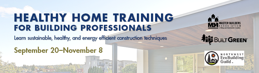 Healthy Home Training for Building Professionals