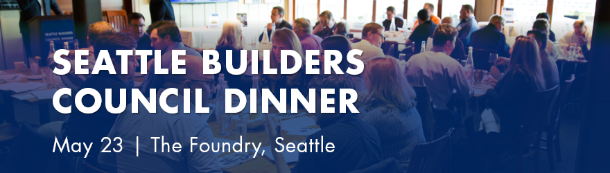 Seattle Builders Council Dinner