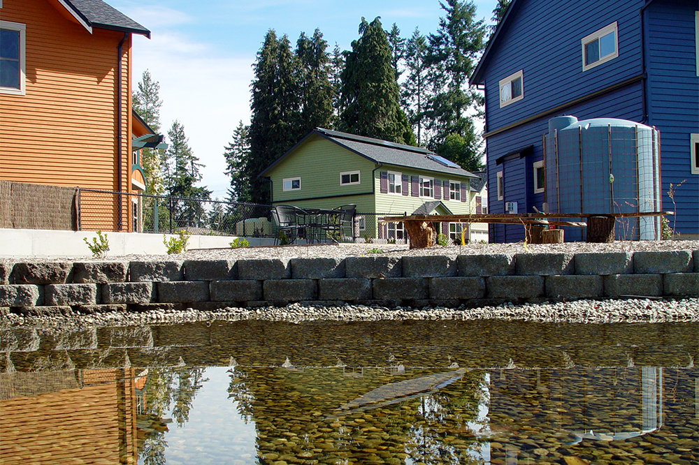 Queen City EcoVillage by Martha Rose. This is a Built Green certified community in Shoreline.