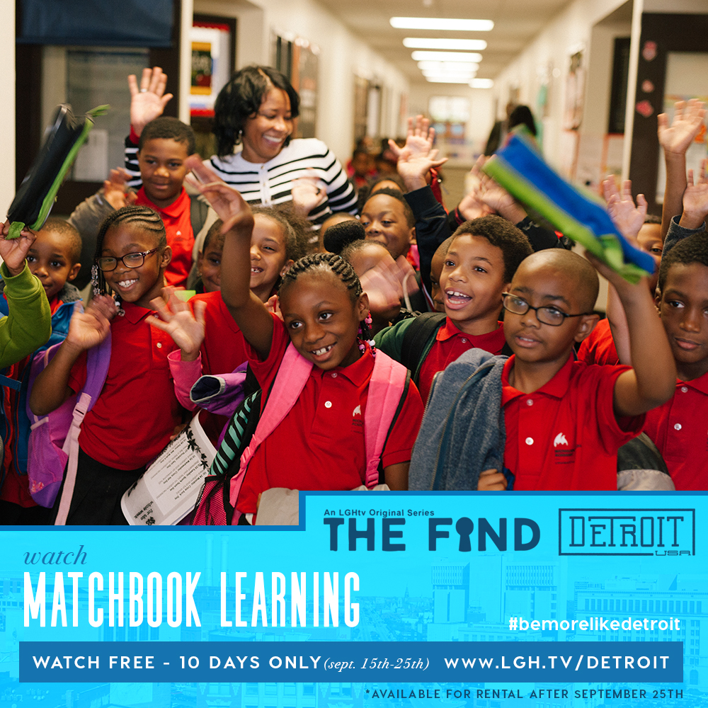 LGH.tv's The Find features Matchbook Learning's work at Michigan Technical Academy