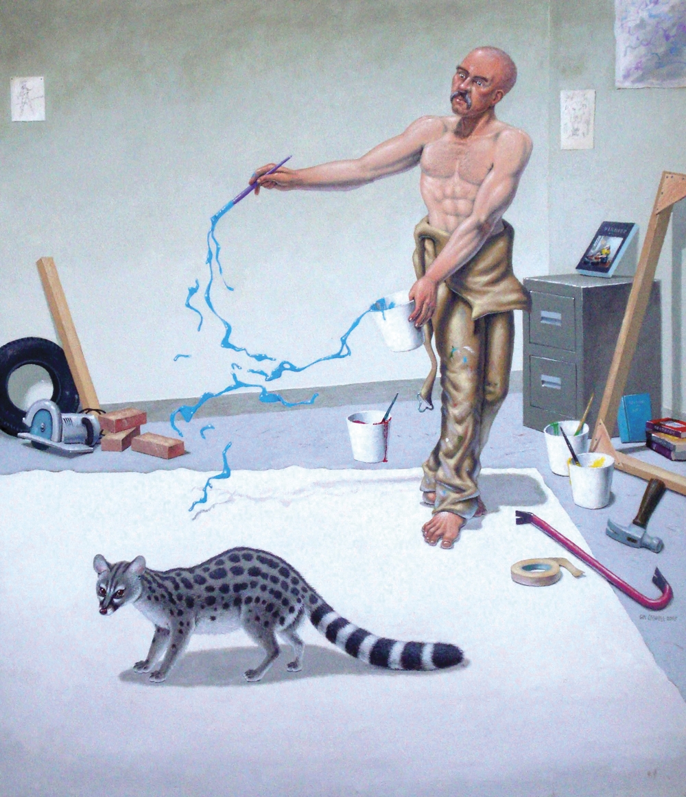 Painter With Genet 30X26