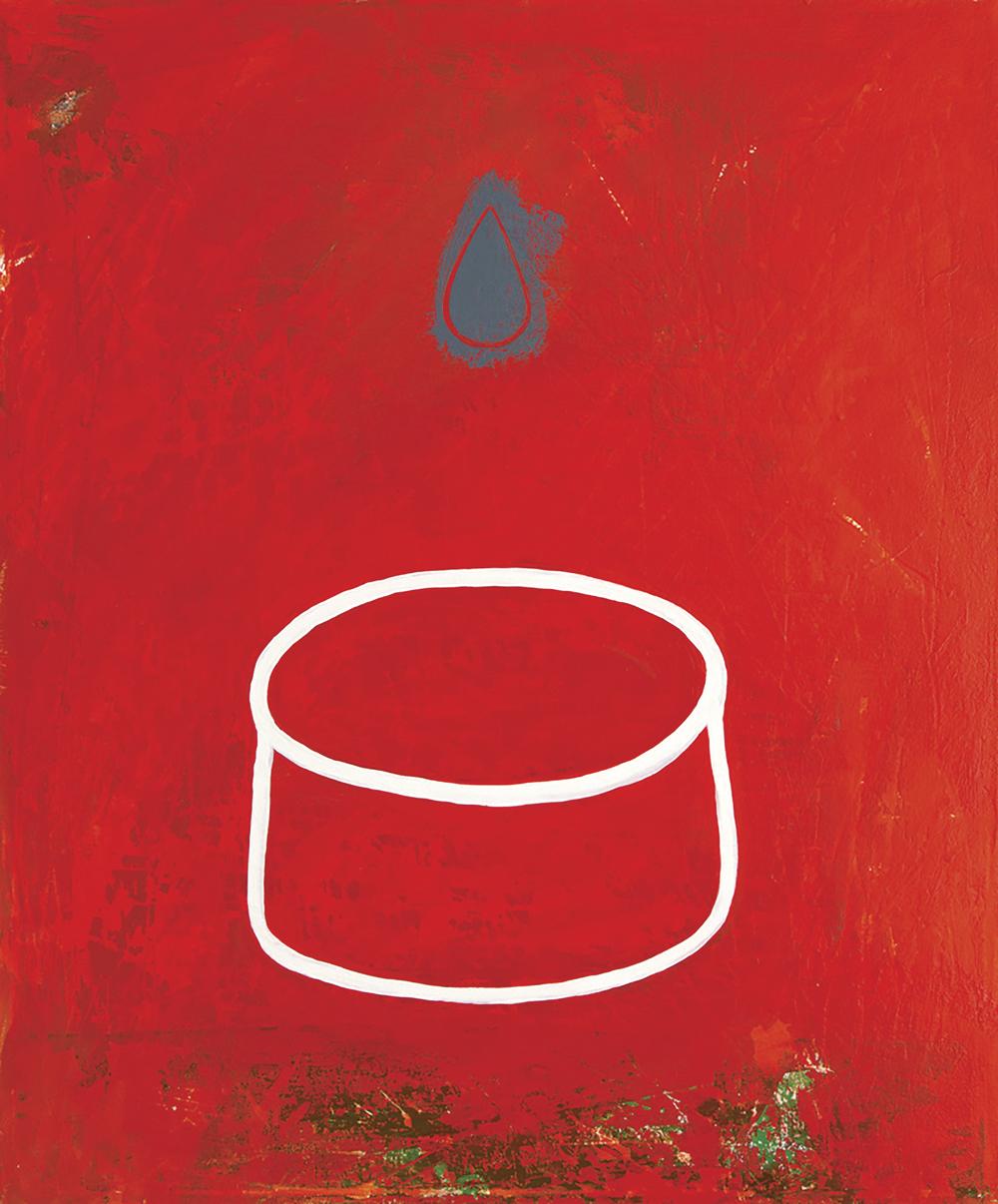 Red Field Karen Stead Baigrie 1000