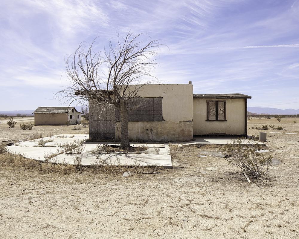 William Scharf Abandoned House Hi Vista Ca 20X30 2015