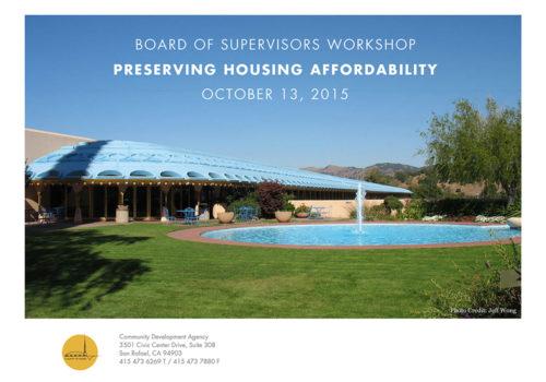Preserving Housing Affordability 1000X700