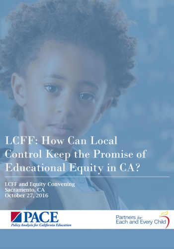 Educational Equity In California