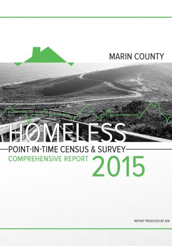 Marin County Homelessness Report 2015