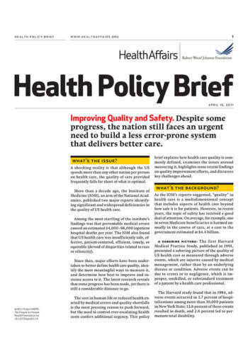 Health Policy Brief 700X1000