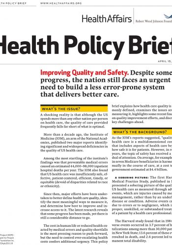 Healthpolicybrief45