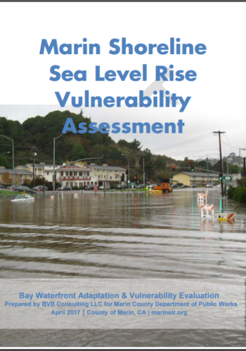Marin Shore Level Sea Rise Cover
