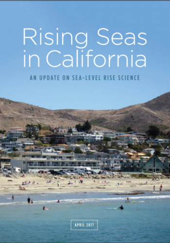 Rising Seas In Ca Cover