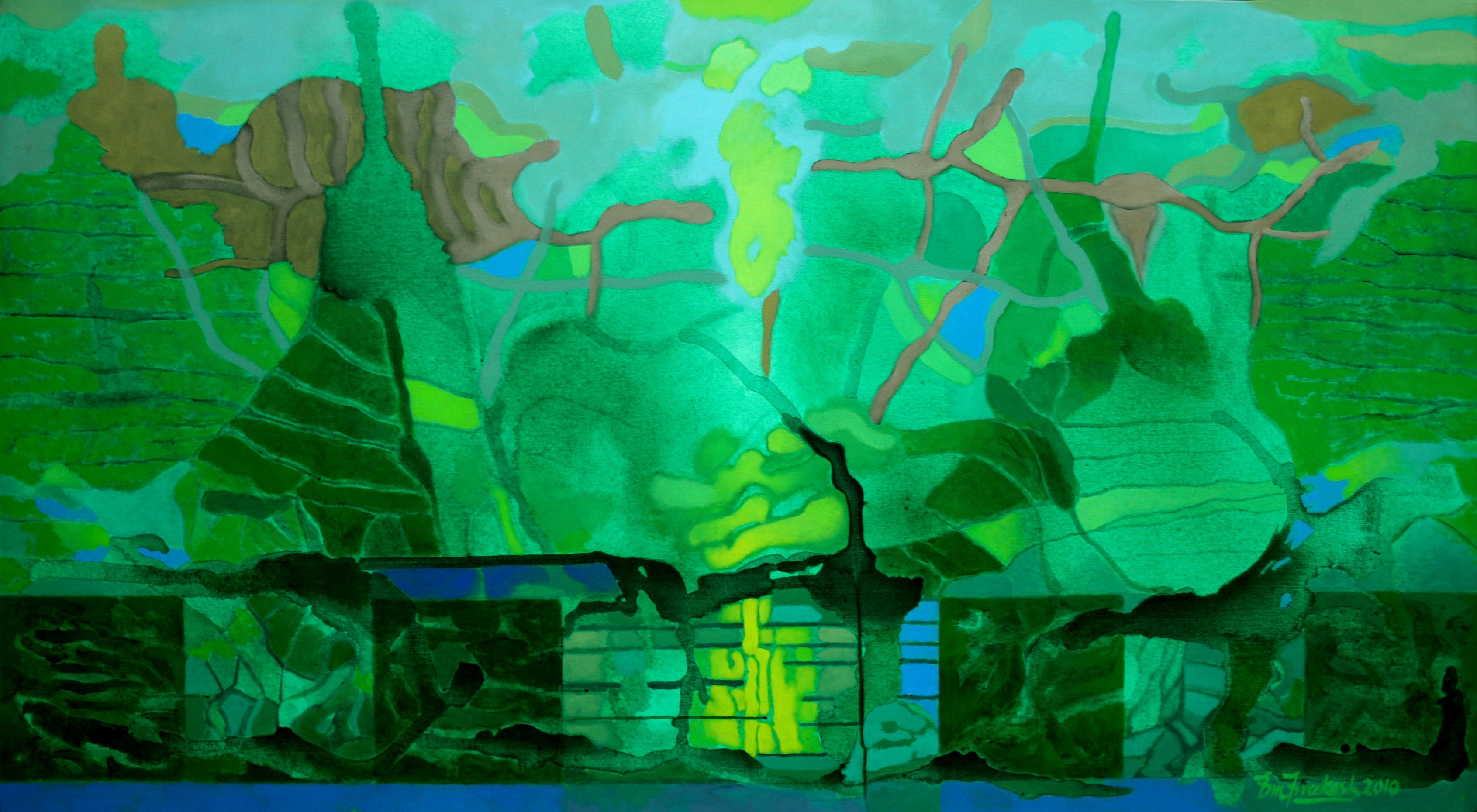 Green Manifestation 40 X72 2010