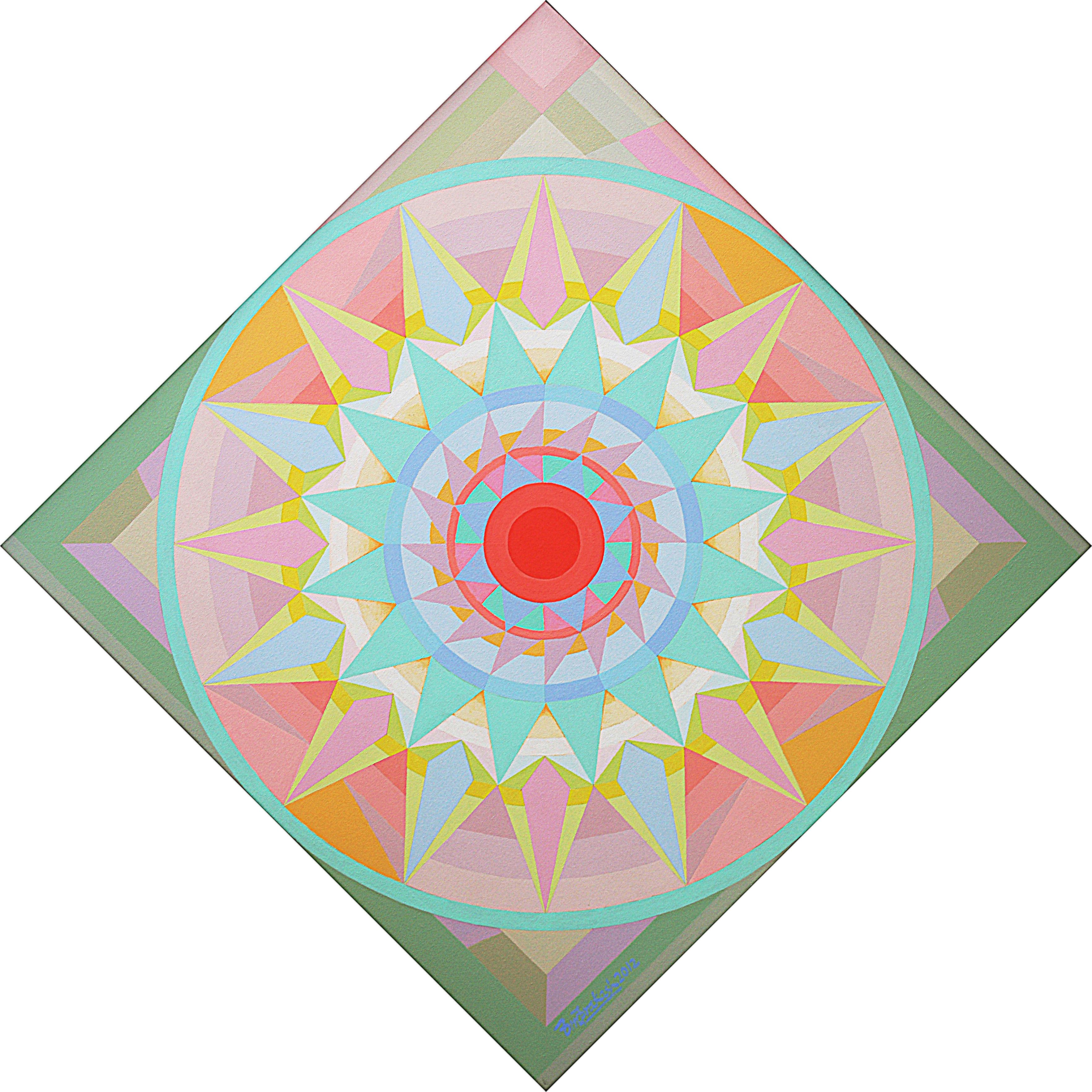 Joy Mandala Ii 44 X44 2012
