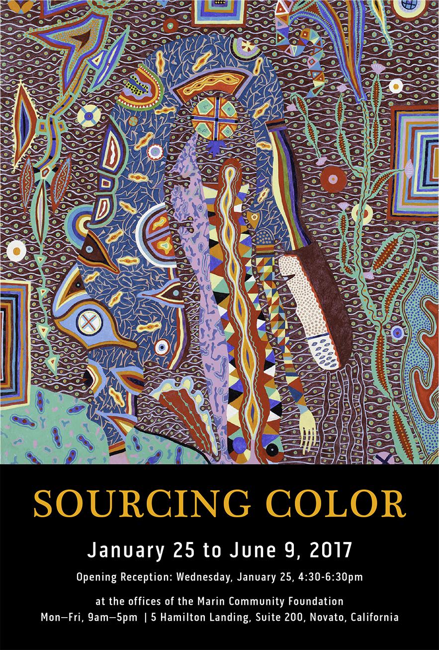 Sourcing Color, Jan 25 to June 9, 2017