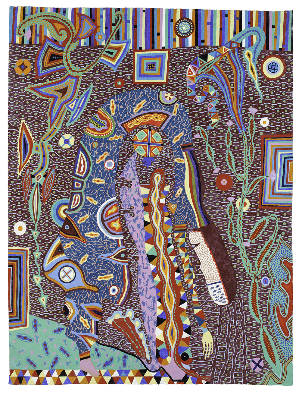 Upside Down, 2012, Patrick Maloney, Acrylic On Canvas, 53x41