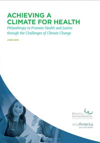Achieving Climate Health Cover