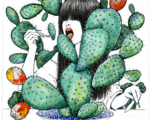 Naomi Alessandra 5 The Cactus Eater 1