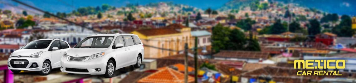 Renta de autos en Aeropuerto San Cristóbal de las Casas