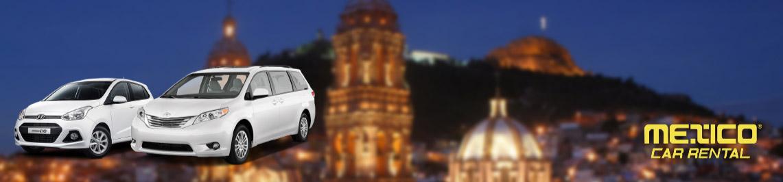 Renta de autos en Aeropuerto Zacatecas