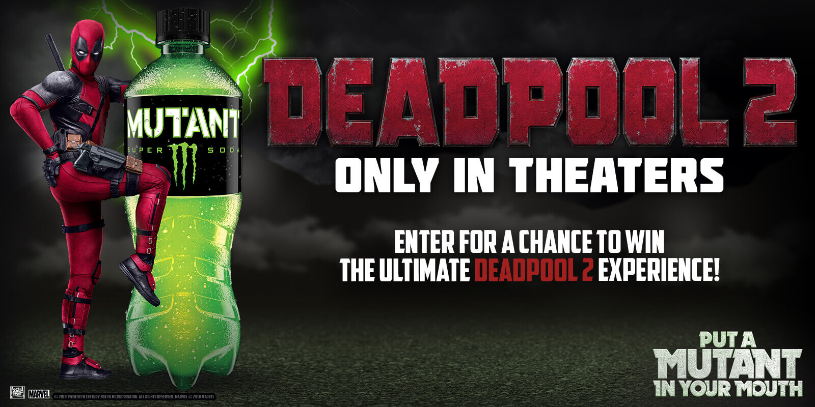 The Mutant® Ultimate Deadpool 2 Experience