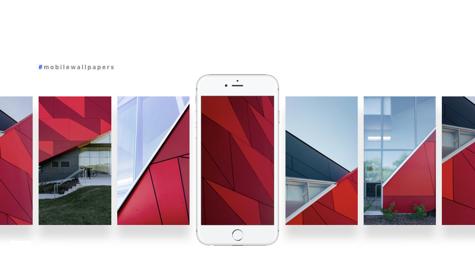 More value for architectural photography by offering mobile wallpapers