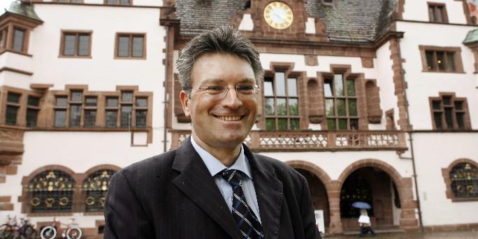 Oberbürgermeister Dieter Salomon