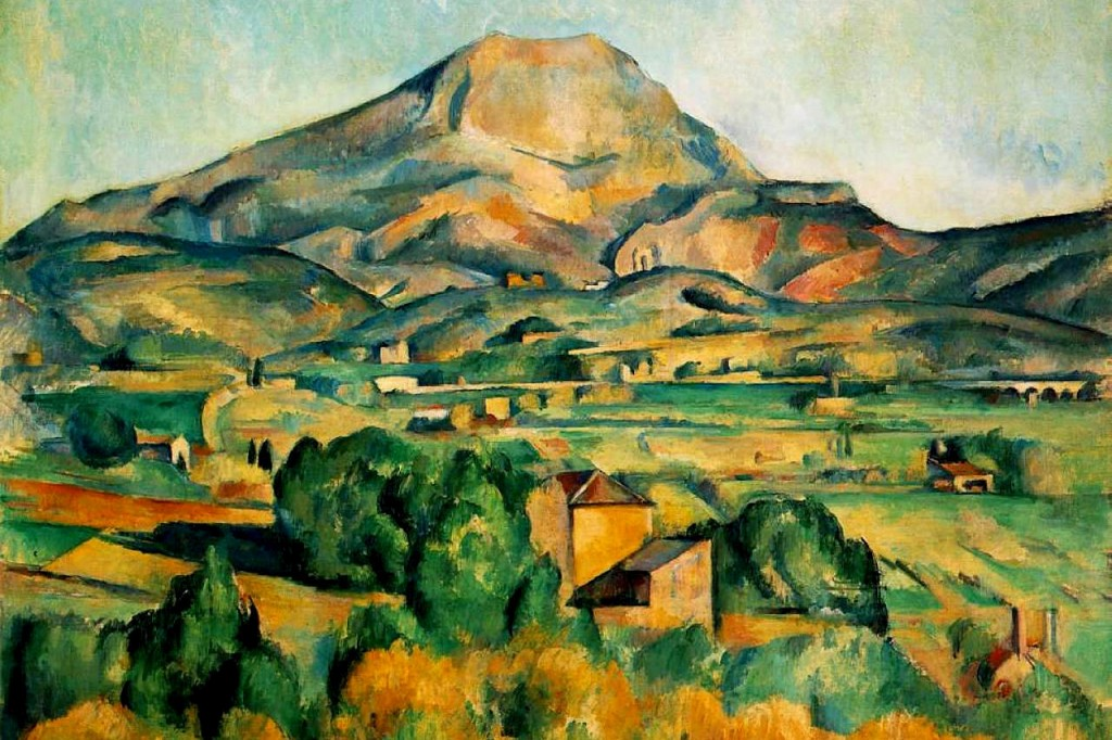 Paul Cezanne Spent His Later Years Painting In Aix En Provence France Inspired By The Beautiful Landscape Above Sought To Depict Human Forms And