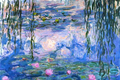 One Of The Most Famous Nature Painting Series Is Monets Water Lilies Which A Gentle Play Light And Shadow These Were Nearly 250