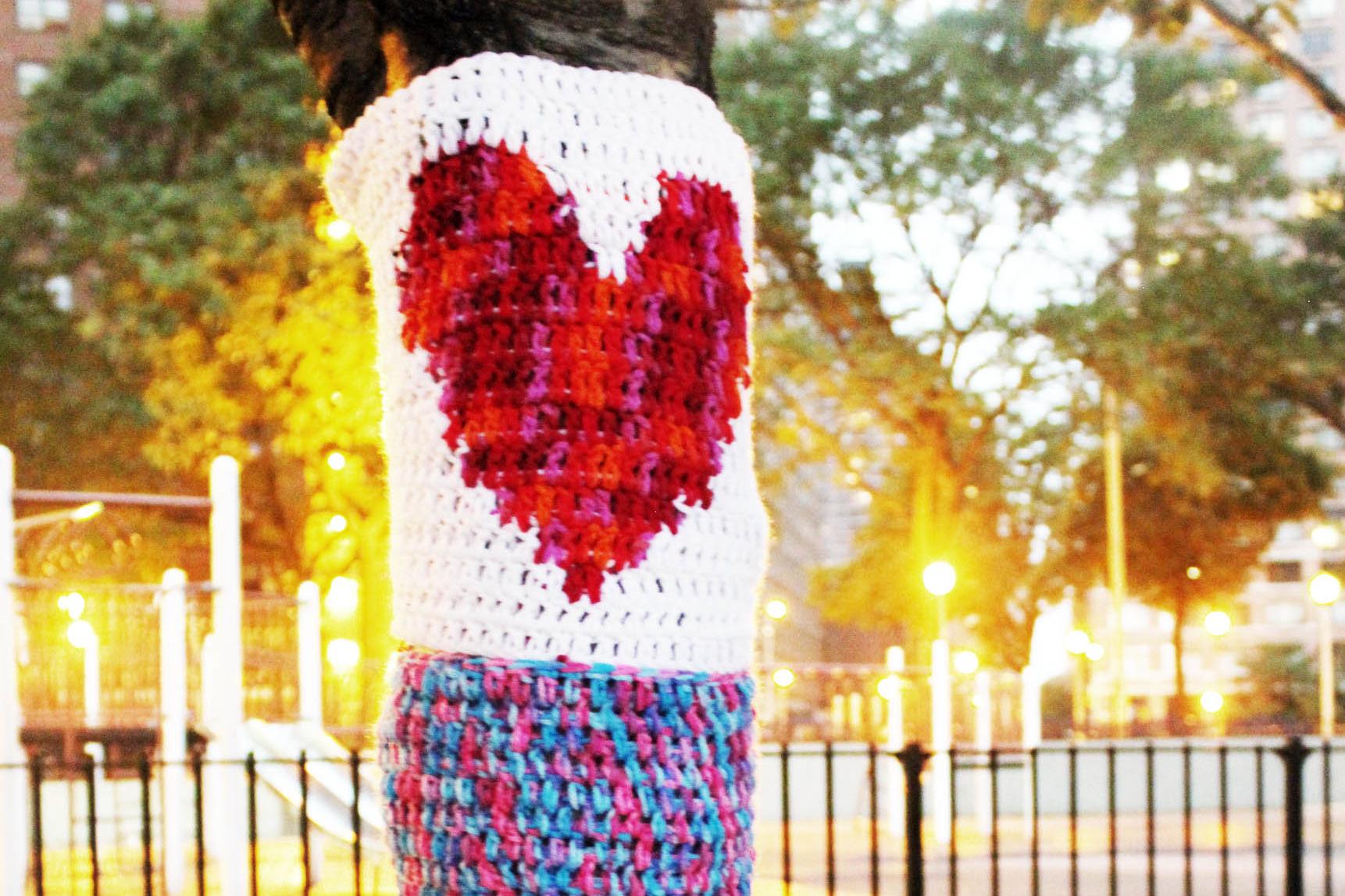 yarn bombing � tentree