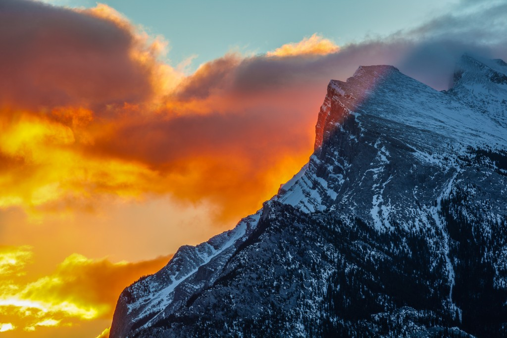 Mount Rundle, Banff National Park, Alberta, Canada