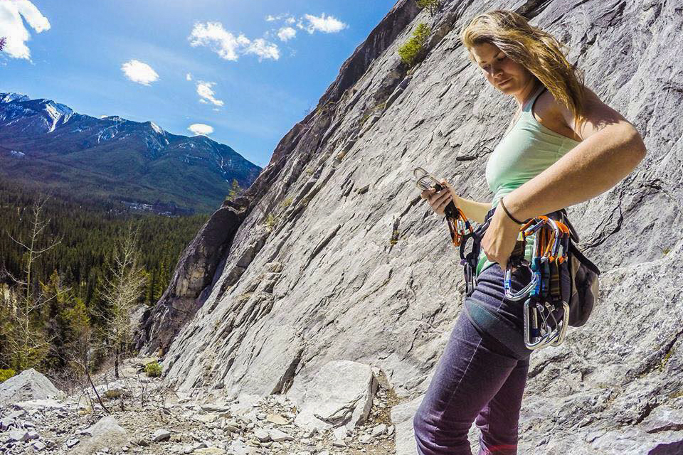 Rockclimbing tentree banff