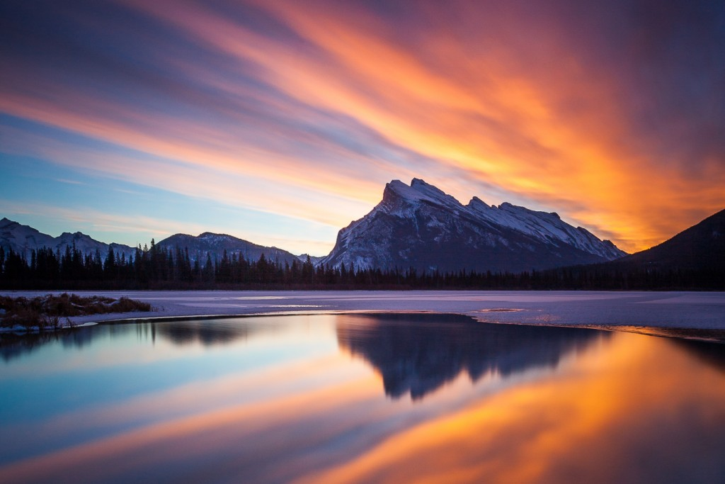 Mount Rundle Sunrise - Callum Snape