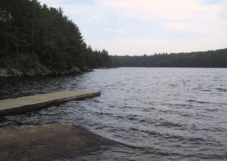 Silent Lake Provincial Park ontario canada camping