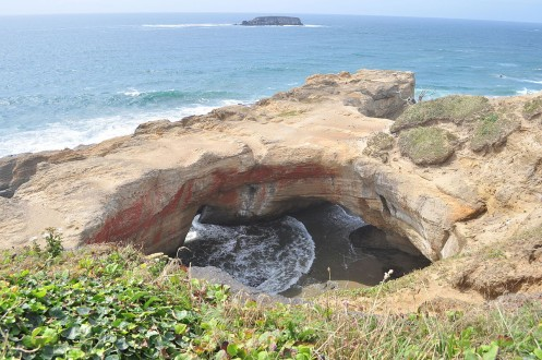 devils punchbowl near otter rock oregon