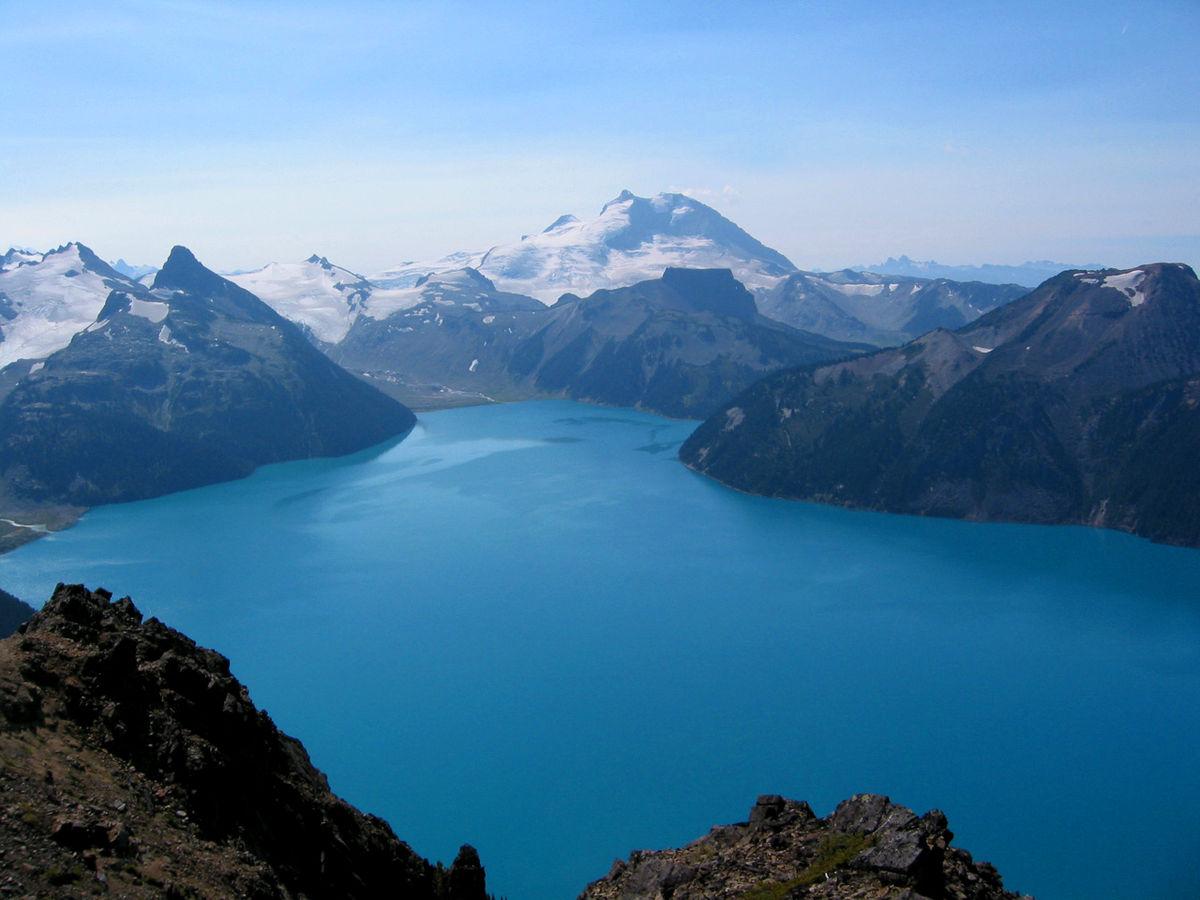 Garibaldi Lake hike on a clear day