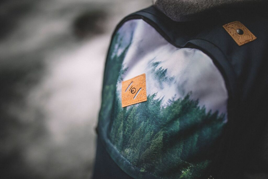 tentree recycled renu backpack