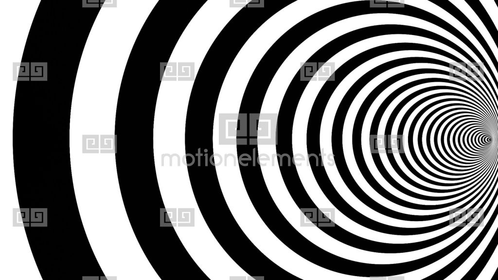 animated optical illusions template - optical illusion target tunnel retro spiral hypnosis
