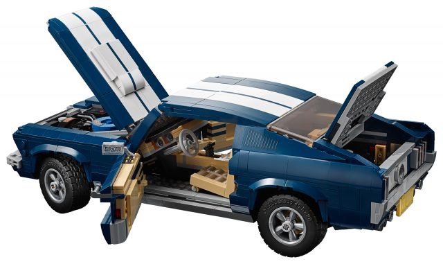 customizable 10265 ford mustang revealed as next lego. Black Bedroom Furniture Sets. Home Design Ideas