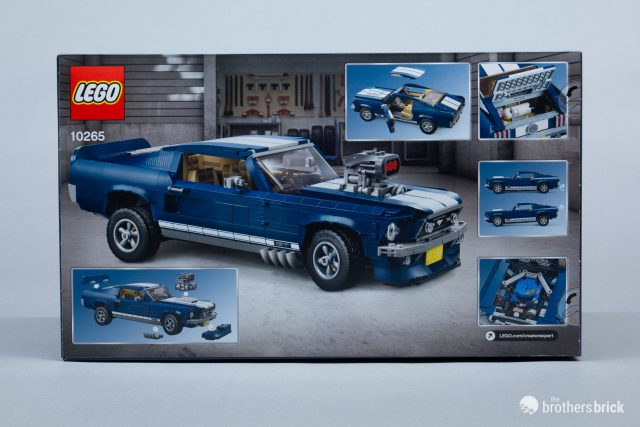 Is The Lego Creator Expert 10265 Ford Mustang The Best Lego Car Yet Review The Brothers Brick The Brothers Brick