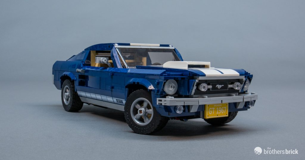 10265 Lego Creator Expert Ford Mustang Review 29 The Brothers