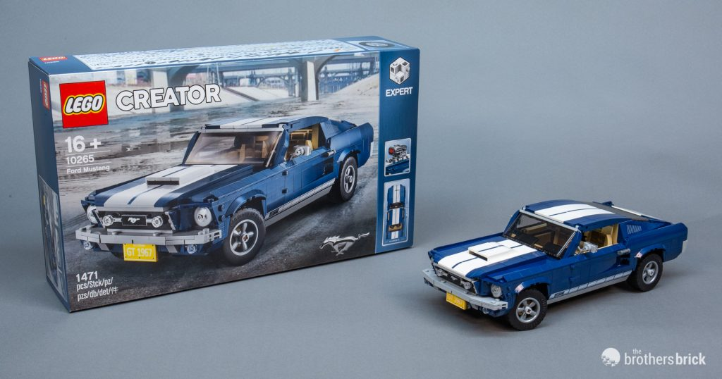 ford mustang lego creator