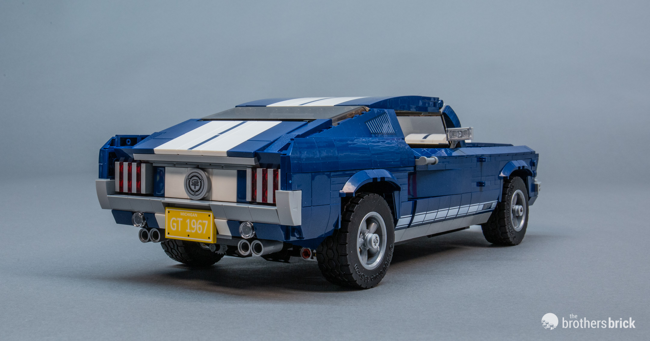 10265 Lego Creator Expert Ford Mustang Review 31 The Brothers